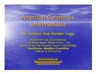 American Cutaneous Leishmaniasis - Antonio Rondón Lugo