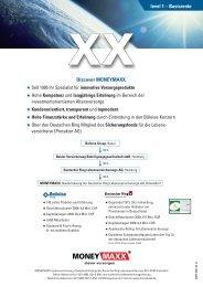 level 1 – Basisrente Discover MONEYMAXX. - vmc-metzner.de