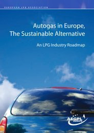 Autogas in Europe, The Sustainable Alternative - Autogas-Suisse