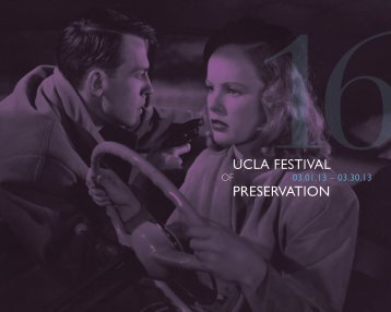 Download the UCLA Festival of Preservation Catalog (PDF)