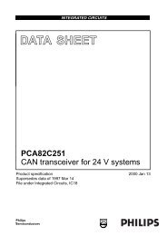 PCA82C251 CAN Transceiver - AVRcard
