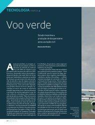Voo verde - Revista Pesquisa FAPESP