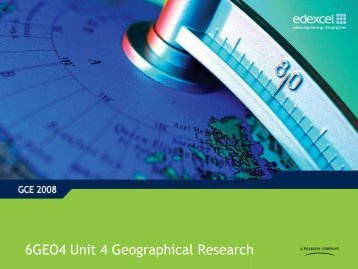 Geographical Research