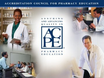 Programmatic Assessment - Accreditation Council for Pharmacy ...