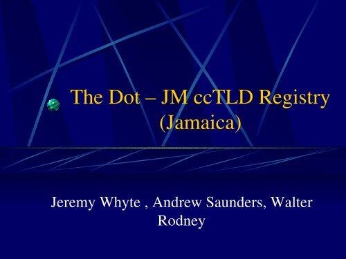 Domain Name Registration & Administration in the Caribbean Regi