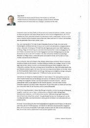 Editorial von Eugen David - Fonds Landschaft Schweiz