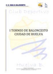 Informacion Torneo - Federación Andaluza de Baloncesto