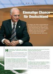 Einmalige Chance für Deutschland - Reifenmagazin.de