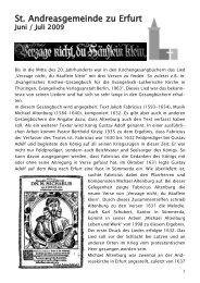 Gemeindebrief Juni / Juli 2009 - andreasgemeinde-erfurt.de ...