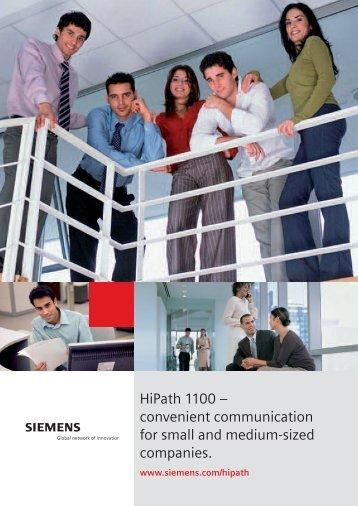 HiPath1100+V6[1]. - Wats Telecom