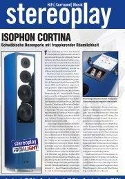 Sonderdruck 10/04 - Isophon