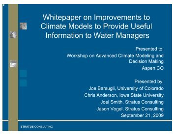 Download PowerPoint slides - Aspen Global Change Institute