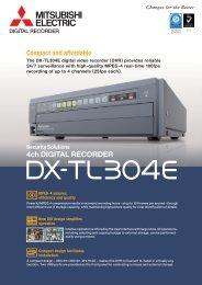 Mitsubishi DX-TL304E Datasheet (741 KB) - SLD Security ...