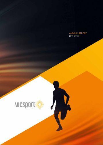 vicsport Annual Report 2012