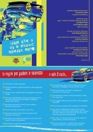 le regole per guidare in sicurezza - ASL n.3 Genovese