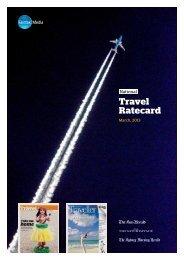Travel Rate Card - Fairfax Media Adcentre