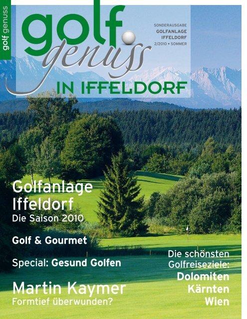 Gesund Golfen - Golfplatz Iffeldorf