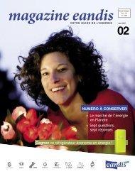 Magazine Eandis 02 - Mai 2007 - 'Le marché de l'énergie en Flandre'
