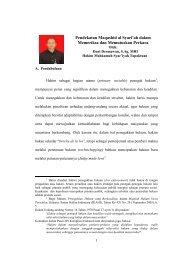 Pendekatan Maqashid al Syari'ah dalam Memeriksa dan ... - MS Aceh