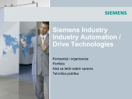 Siemens Industry - Tehnounion