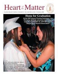 Summer 2006 - Sacred Heart Schools