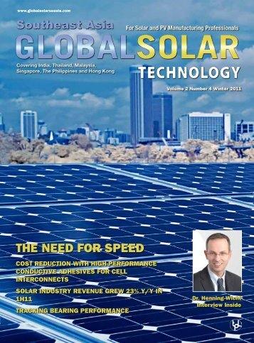 The Need for speed - Global Solar Technology