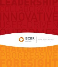 Annual Report 2009/2010 - iscrr