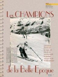 Hivers sportifs de l'époque - Magazine Sports et Loisirs