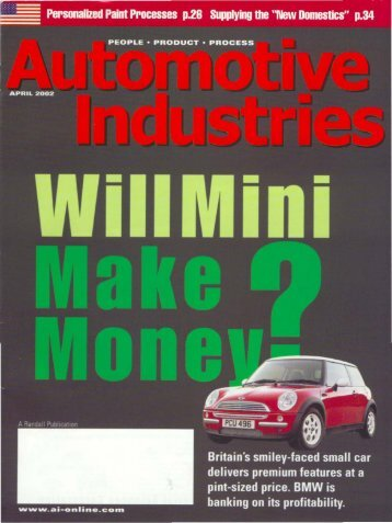 Automotive Industries - Real Story Of The Mini - Sandy Munro