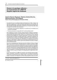 Former à la pratique réflexive : les instruments de la HEP-VS ...