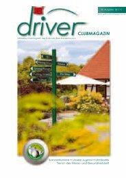 Driver 2 / 2011 als pdf - beim Golfclub - Bad Rappenau eV