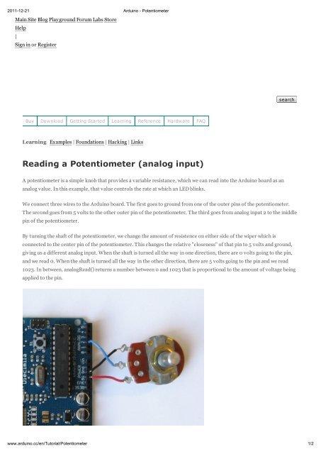 Arduino By Example Pdf