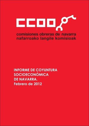 Informe de Coyuntura Socioeconómica febrero 2012