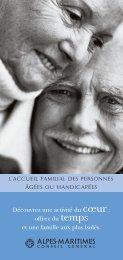 L'accueil familial des personnes âgées ou ... - Conseil général