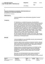 Ehdotus - Helsingin Satama
