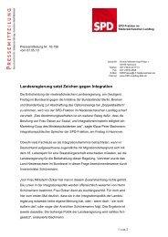 Pressemitteilung vom 07.05.2010 - Klaus-Peter Bachmann
