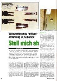 Vollautomatische Aufliegerabstützung im Selbstbau ... - Alex Kalcher