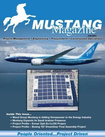 Fall 2011 - Mustang Engineering Inc.