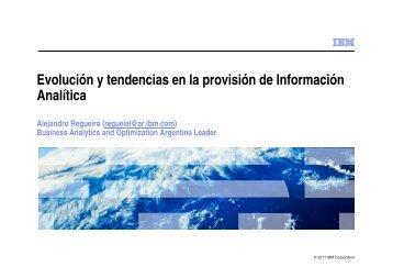 Evolución y tendencias en la provisión de Información ... - CICOMRA
