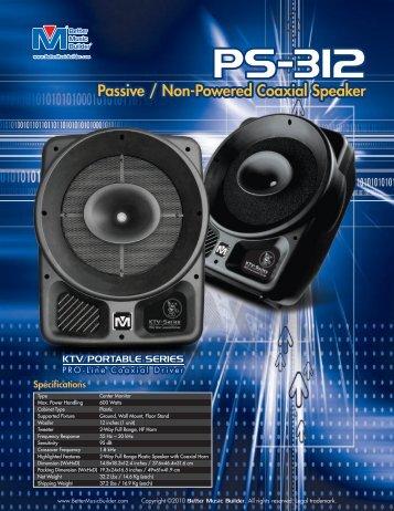PS-312 PS-312 - BMB :: Better Music Builder