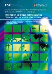 2-page pdf file - Institute for Manufacturing