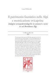 Il patrimonio faunistico nelle Alpi e monticazione ... - La Serenissima