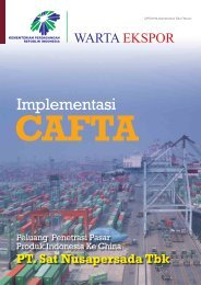 Implementasi CAFTA - Directorate General for National Export ...