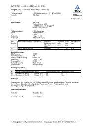 GUTACHTEN zur ABE Nr. 45531 nach §22 StVZO Anlage 9 zum ...