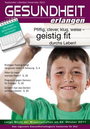geistig fit - Gesundheit Erlangen