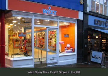 Wizz Open Their First 3 Stores in the UK - Space Retail Property ...