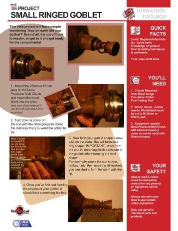 Ringed Goblet - Teknatool