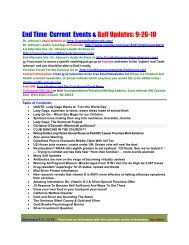 View 9-26-10 PDF - Contending for Truth by Dr. Scott Johnson