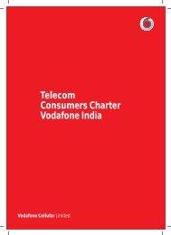 Telecom Consumers Charter Vodafone India
