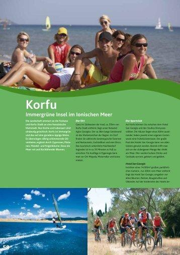 Korfu Immergrüne Insel im Ionischen Meer - Windbeutel Reisen